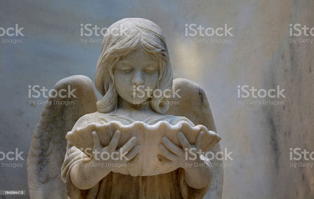 Angel of Bonaventure stock photo