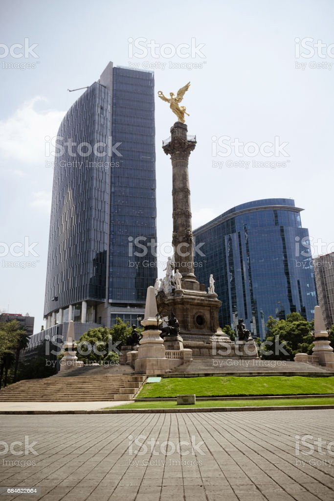Angel of Independence at Mexico City stock photo
