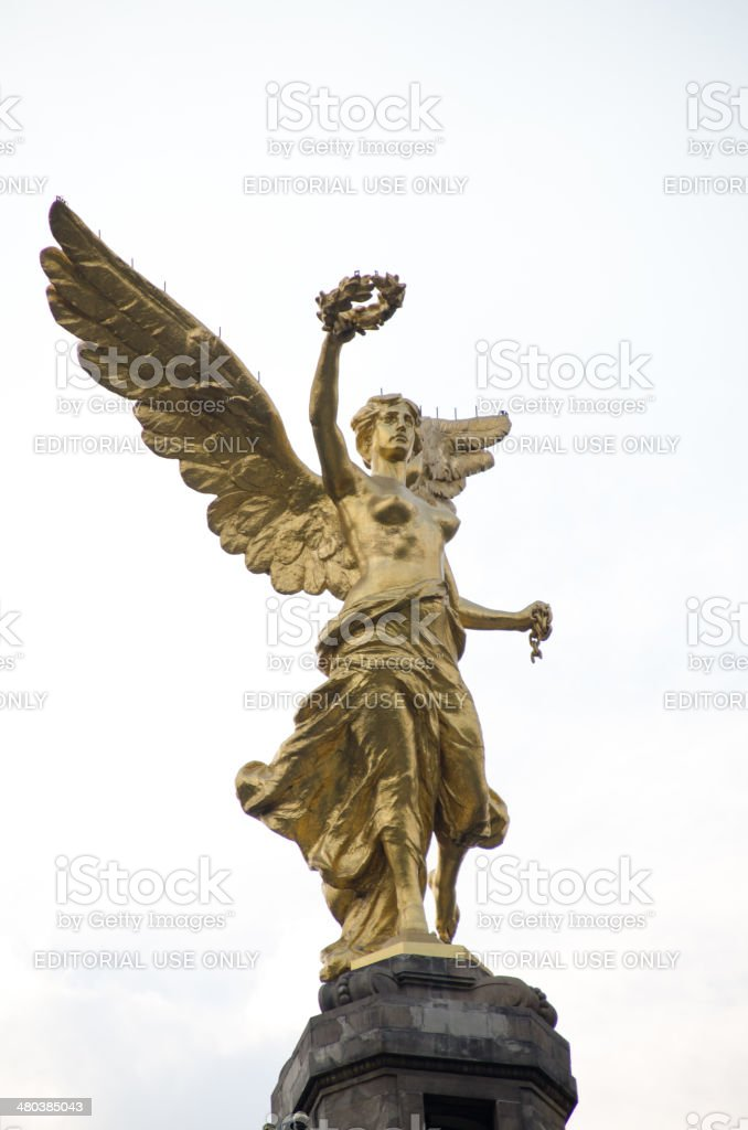 Angel of Independence stock photo