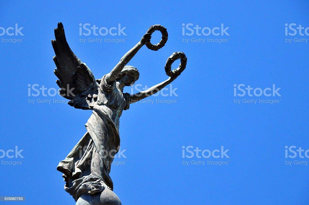 Angel of Liberty monument (1911), San Salvador, El-Salvador stock photo