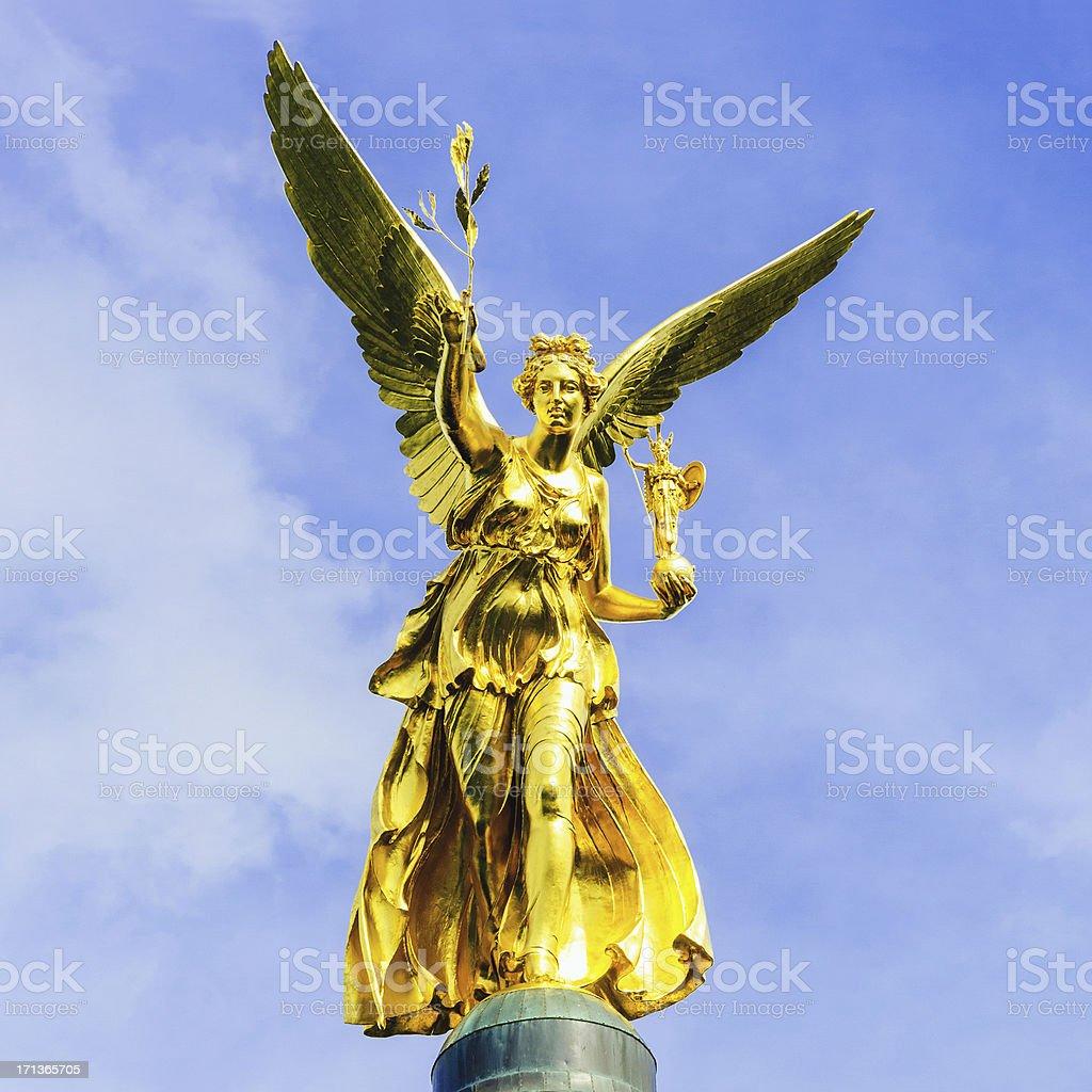 Angel of Peace Munich (Friedensengel) stock photo
