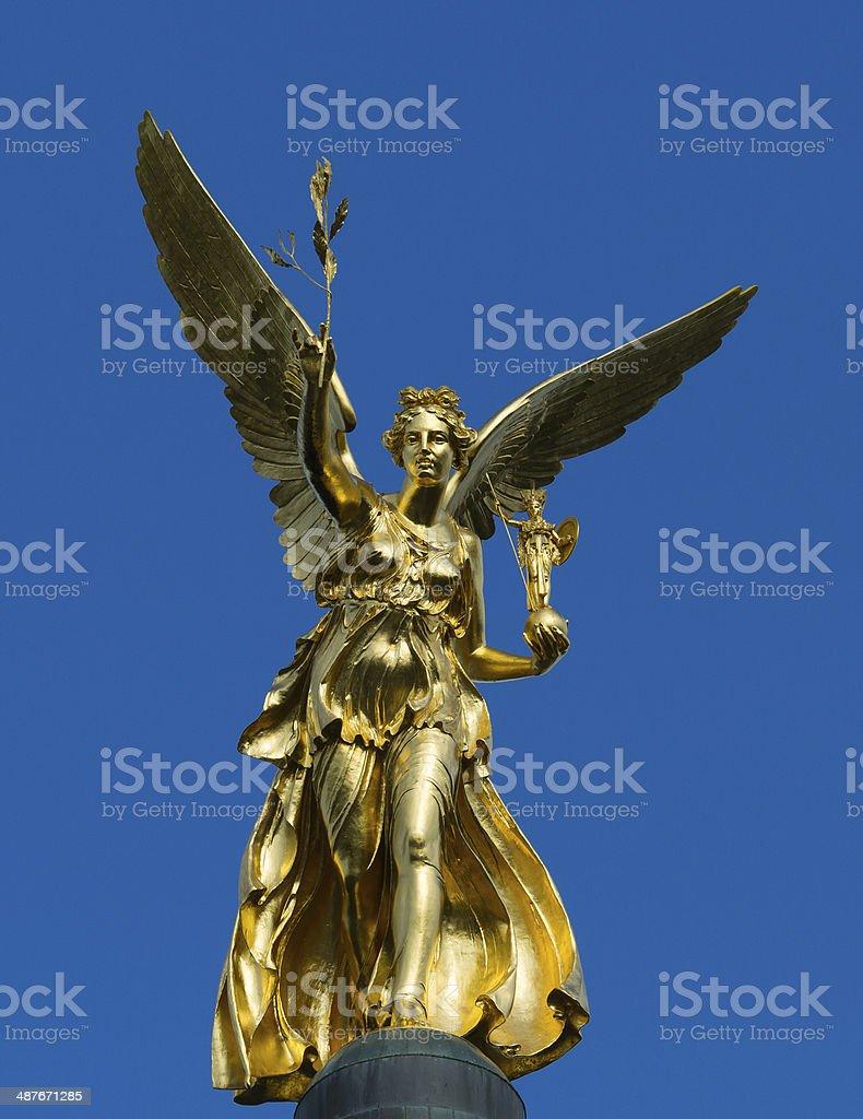 Angel of Peace Munich stock photo