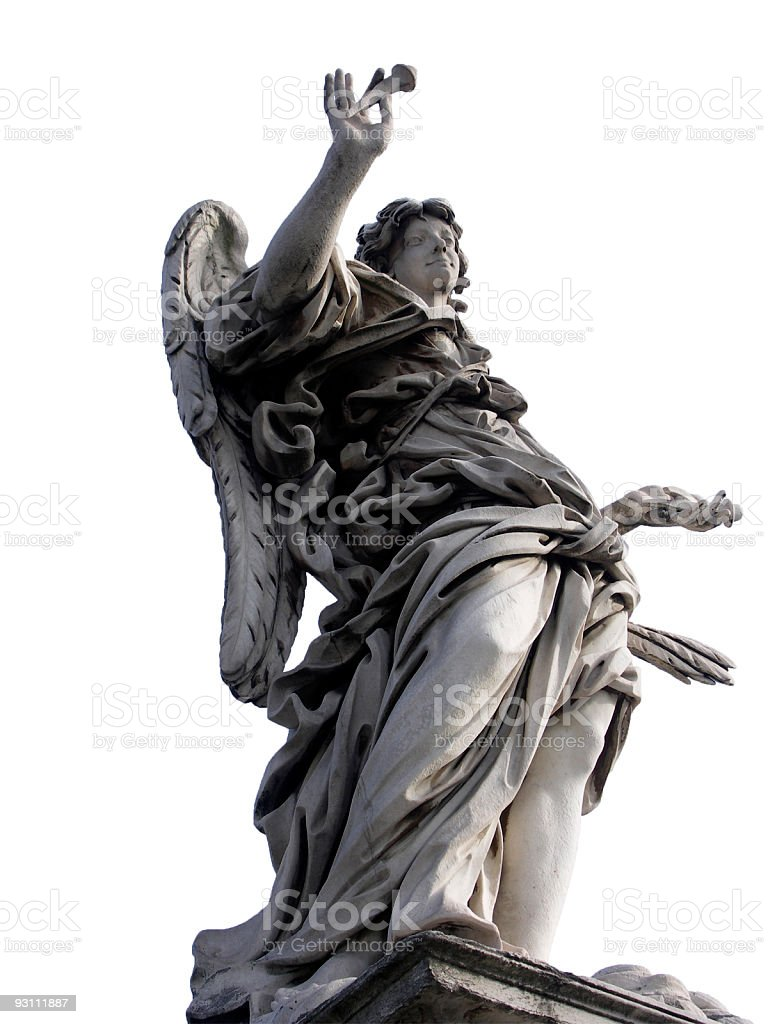Angel of SantAngelo royalty-free stock photo
