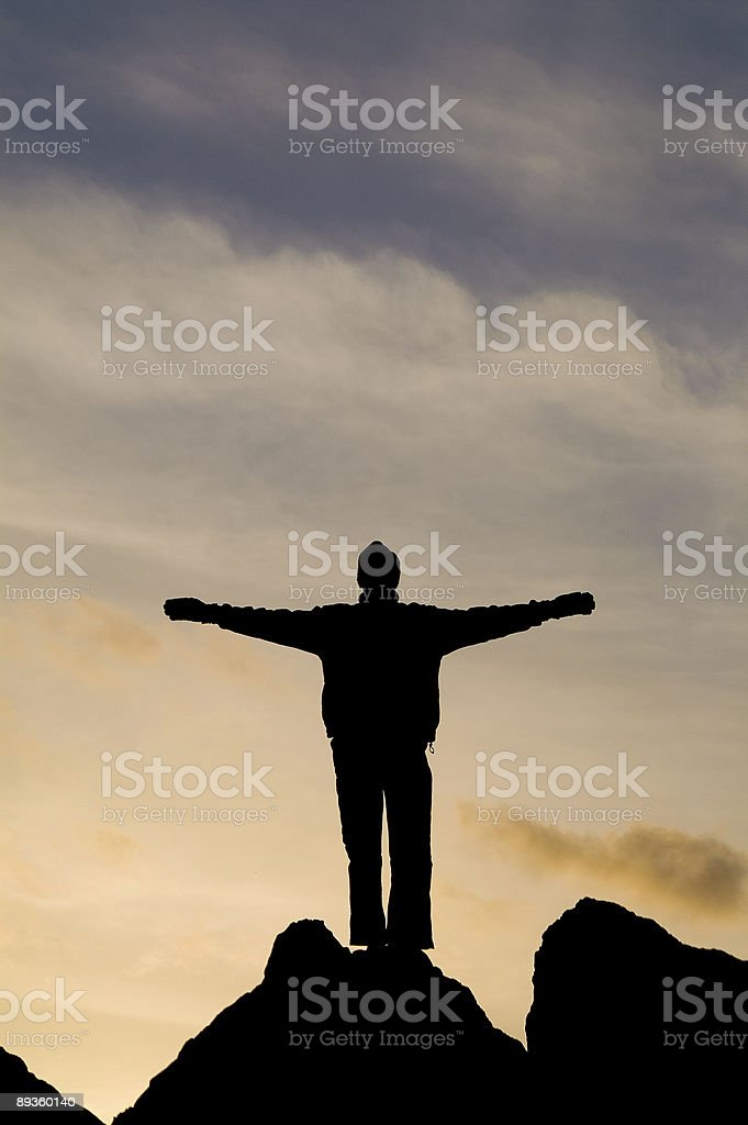 Angel of the South 1 royalty-free stock photo