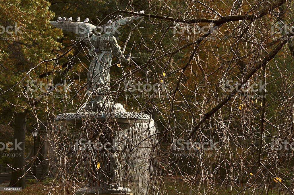Angel of the Waters Fountain royalty-free stock photo