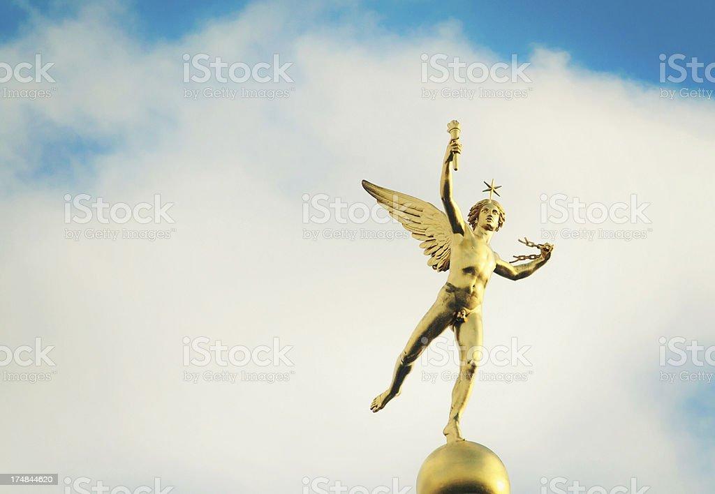 Angel on Place de Bastille stock photo