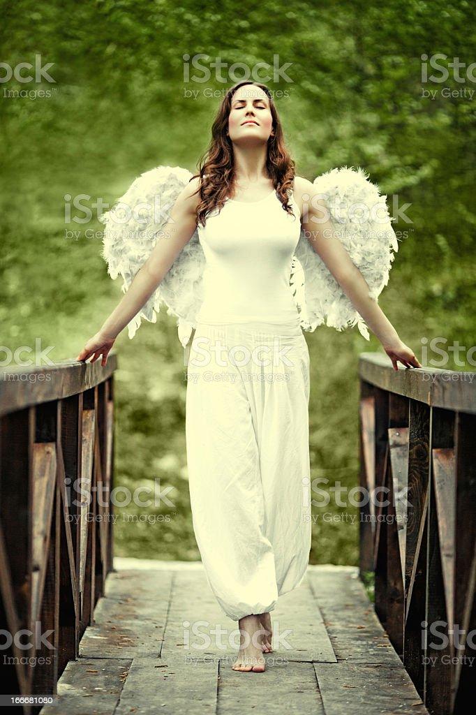 Angel royalty-free stock photo