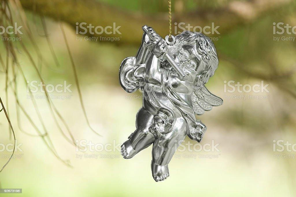 Angel play royalty-free stock photo
