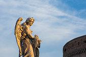 Angel, Ponte Sant'Angelo, Rome, Italy