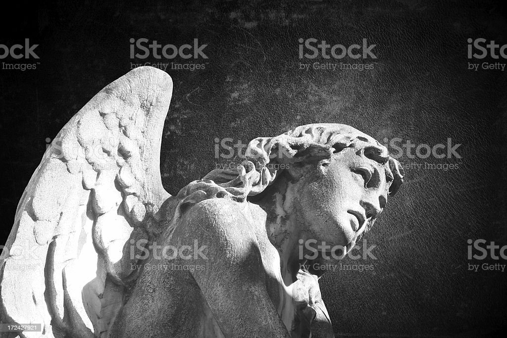 Angel Sculpture royalty-free stock photo