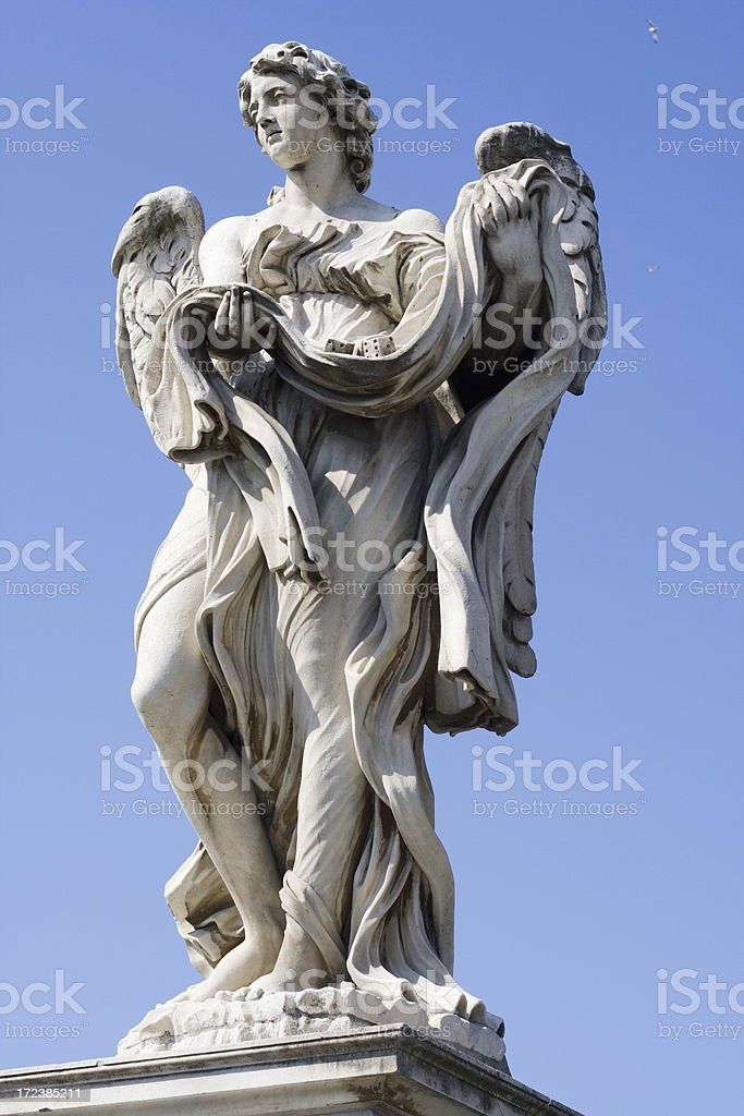 Angel statue royalty-free stock photo
