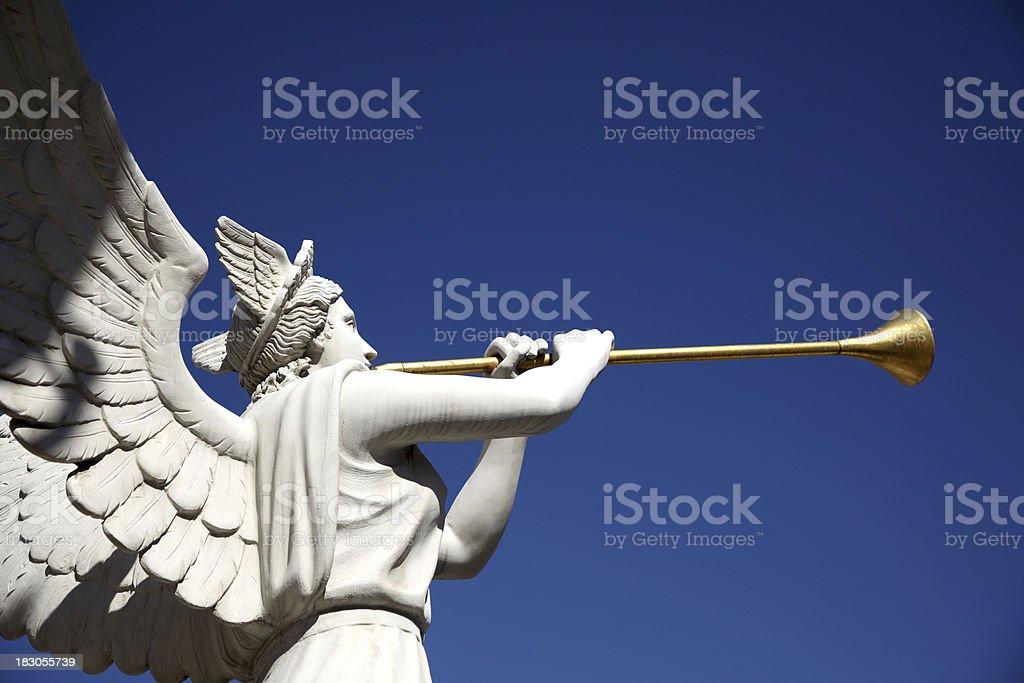 Angel statue royalty-free stock photo