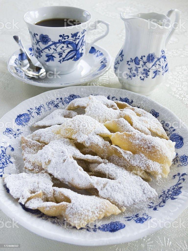 Angel wings cookies royalty-free stock photo