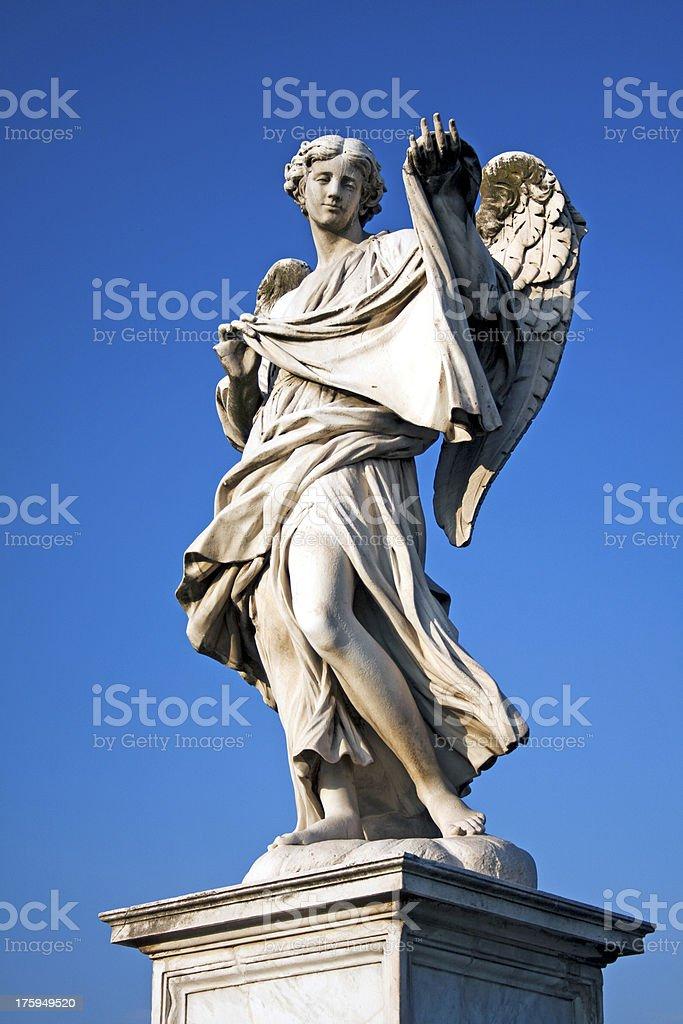 Angel with Shroud royalty-free stock photo