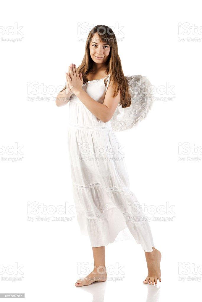 angel woman royalty-free stock photo