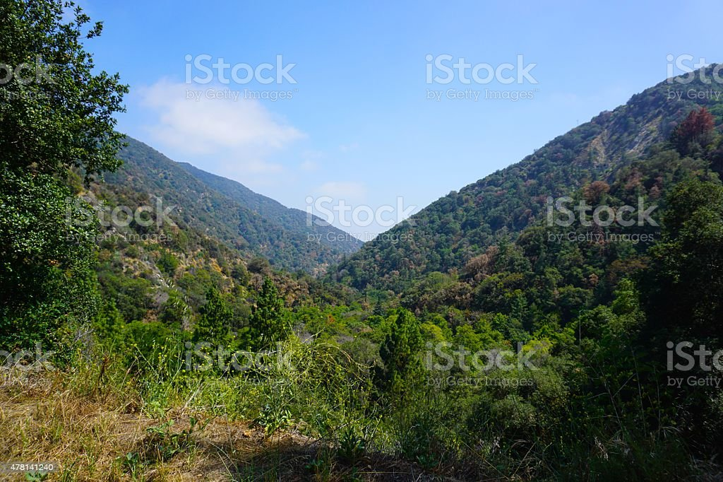Angeles National Forest, California stock photo