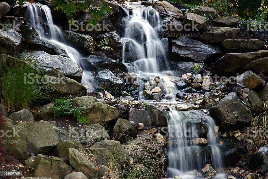 Angelic Falls 2 royalty-free stock photo
