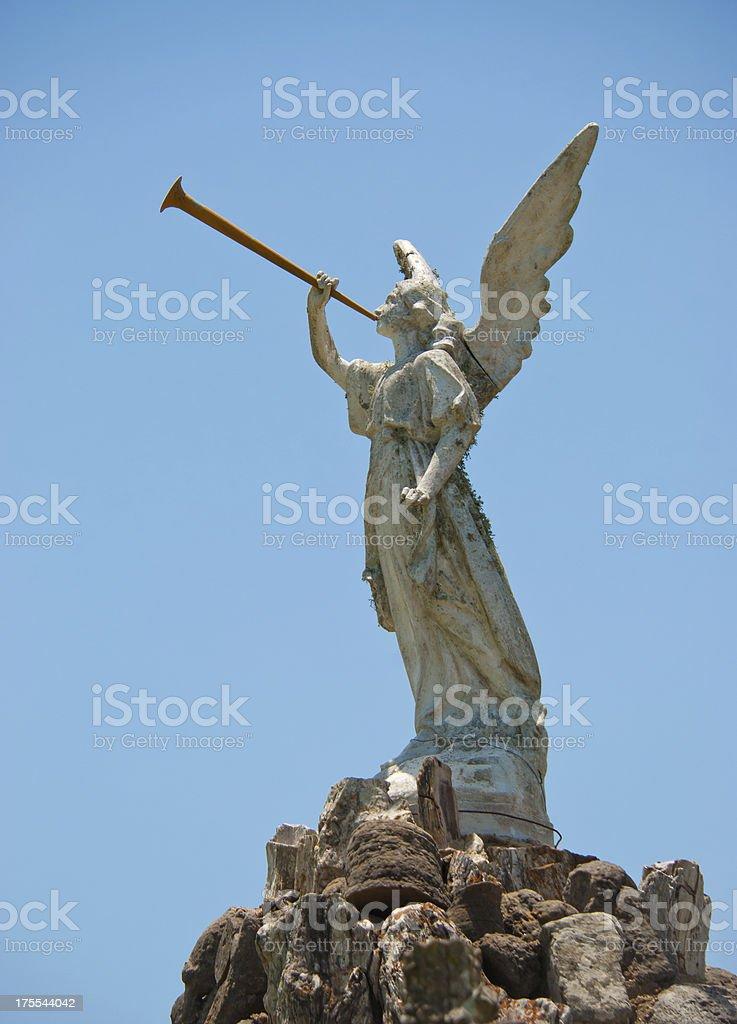 Angelic Horn stock photo
