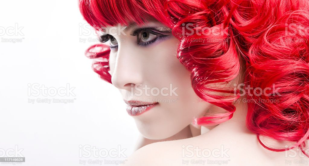 angelic portrait royalty-free stock photo