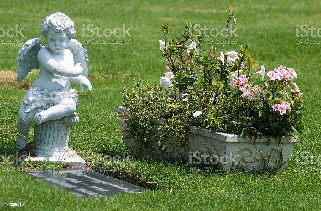 Angelic Statue royalty-free stock photo