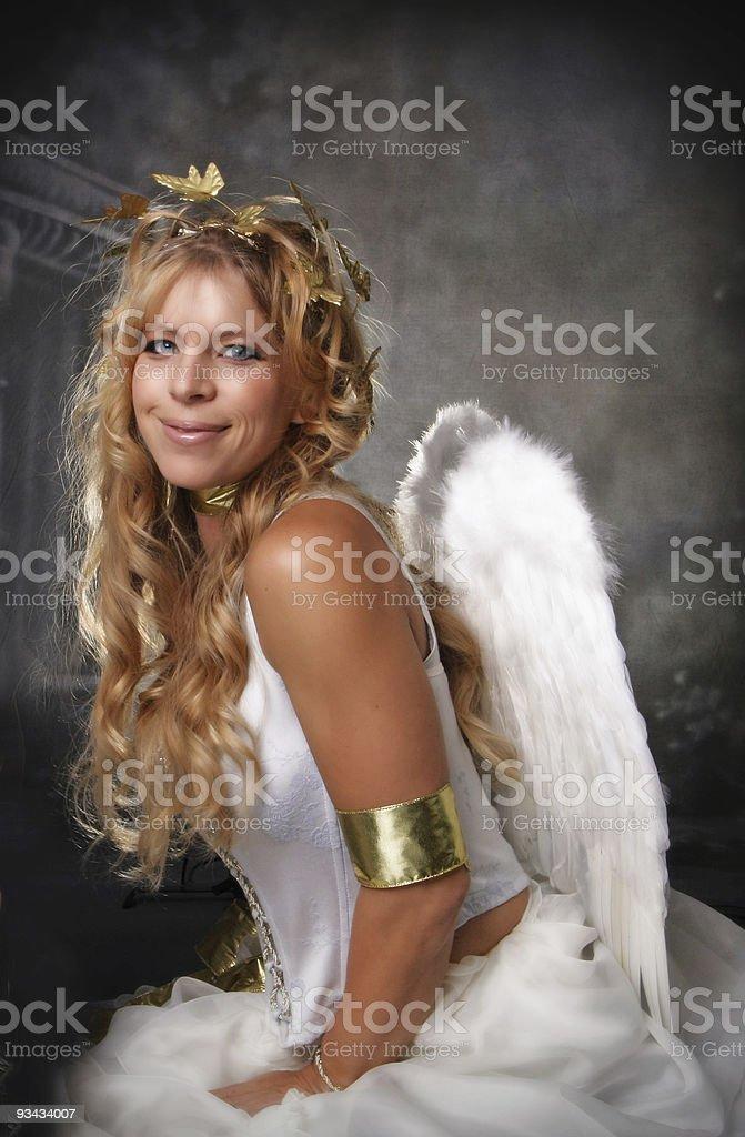 Angelic Woman stock photo