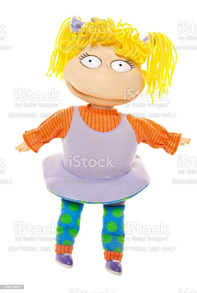 Angelica Pickles from Nickelodeon Show Rugrats stock photo