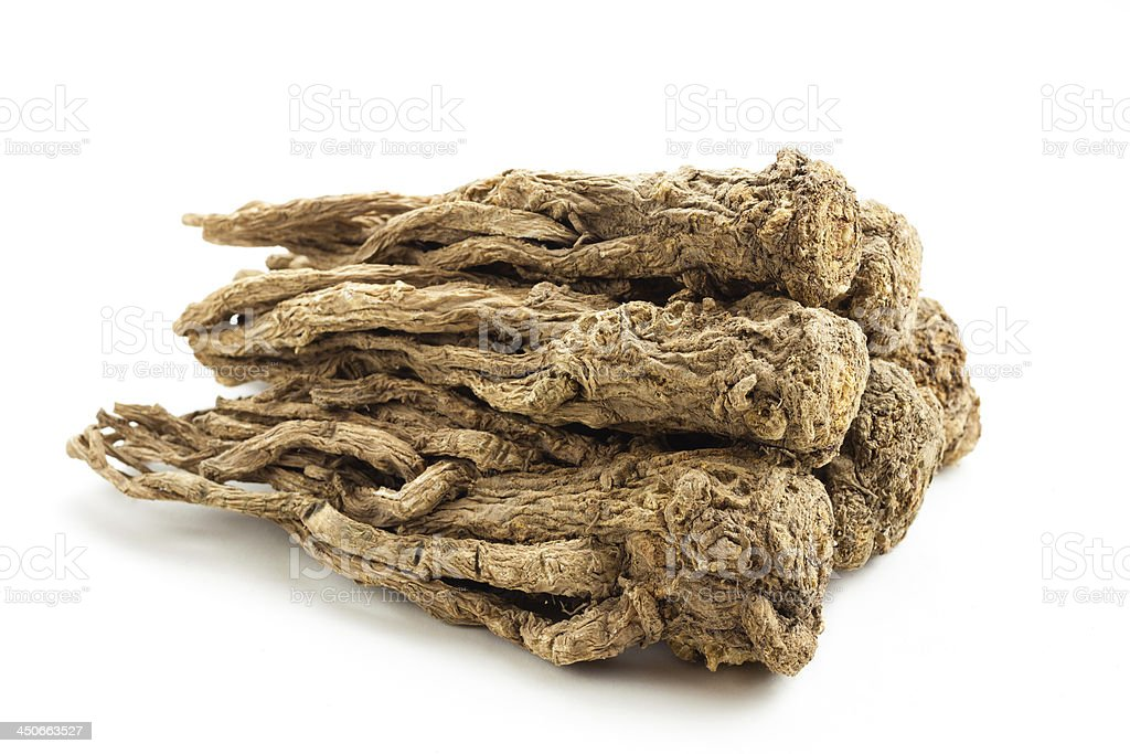 Angelica sinensis(Traditional Chinese Medicine) stock photo