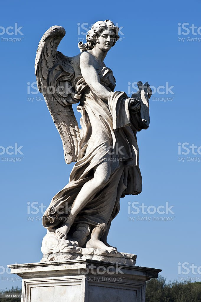 Angelo Scultura Bernini stock photo