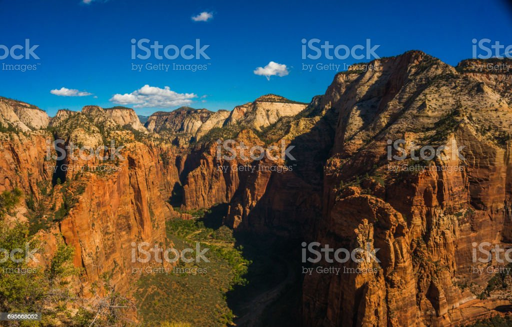 Angels Landing stock photo