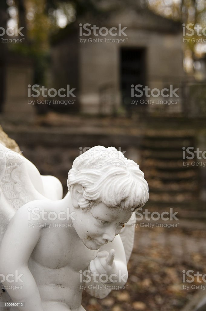 Angels of death serie stock photo