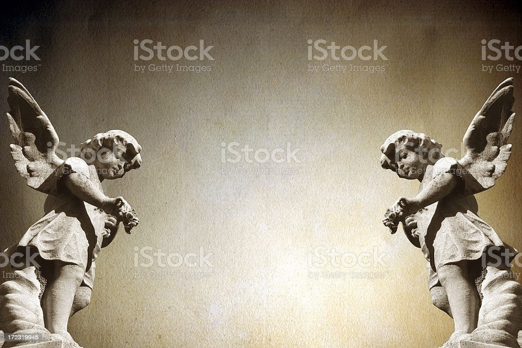 Angels. stock photo