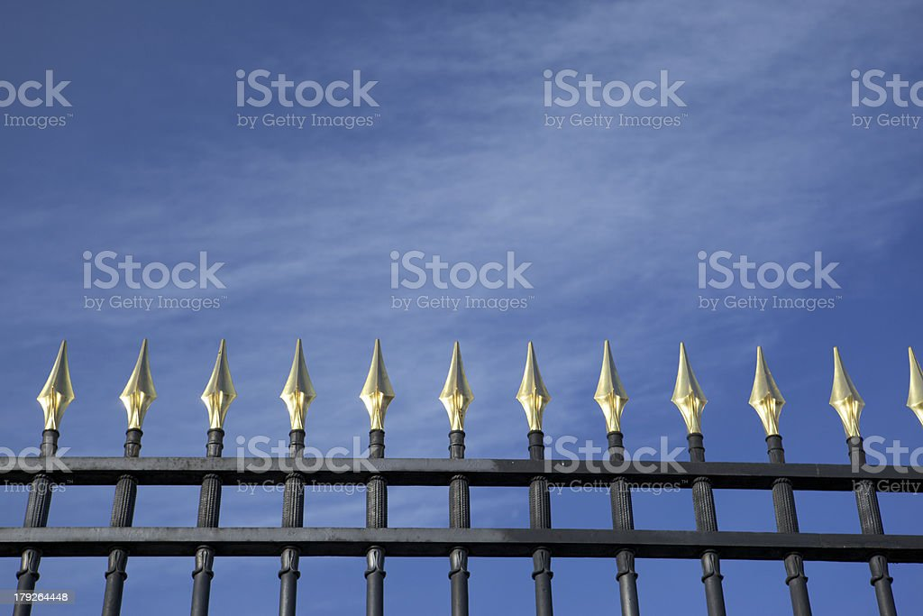 Angels spears. royalty-free stock photo