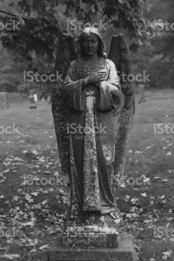 Angels watch over us royalty-free stock photo