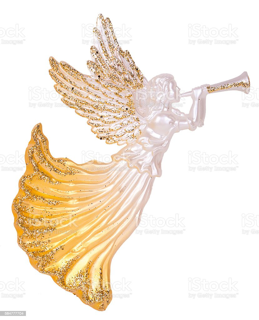 Angels with Trumpets Decoration stock photo