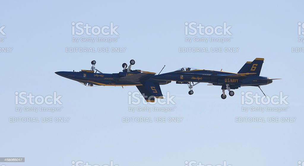Angels With Wheels Up and Down royalty-free stock photo