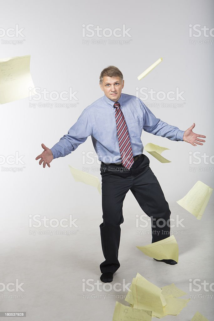 Anger and frustration royalty-free stock photo