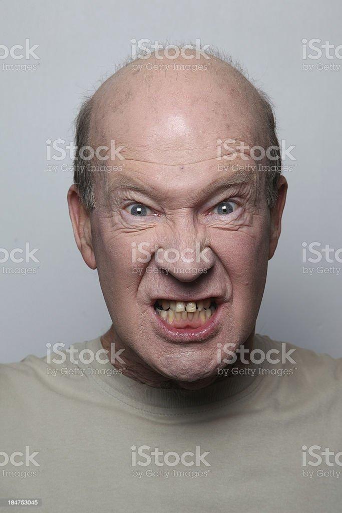 anger man royalty-free stock photo