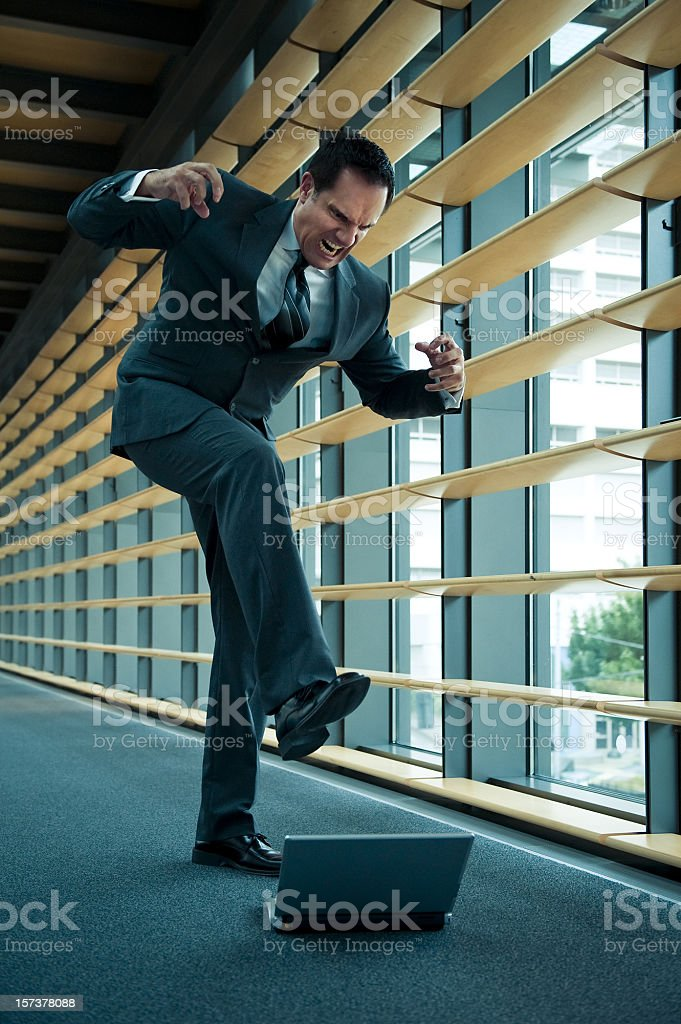 Anger Management Needed royalty-free stock photo