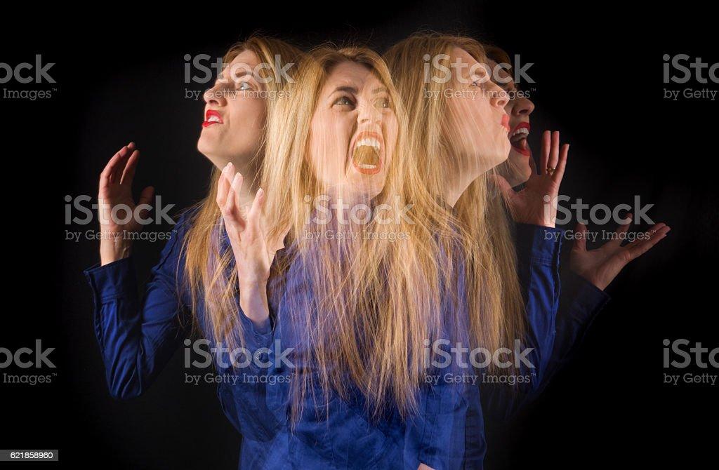 Anger Overload stock photo