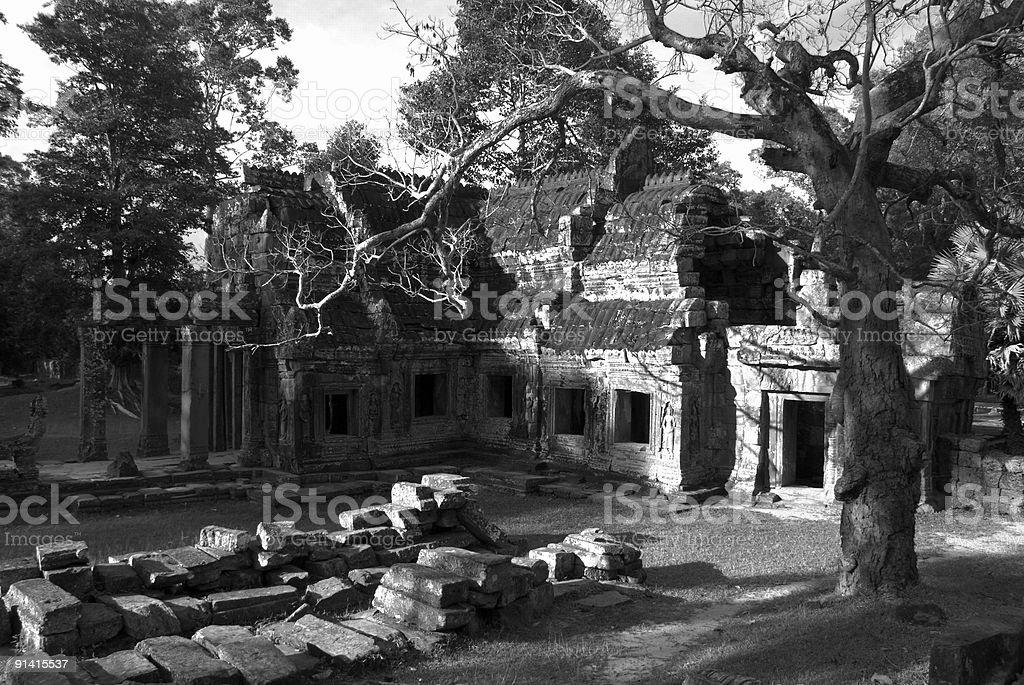Angkor Temple royalty-free stock photo