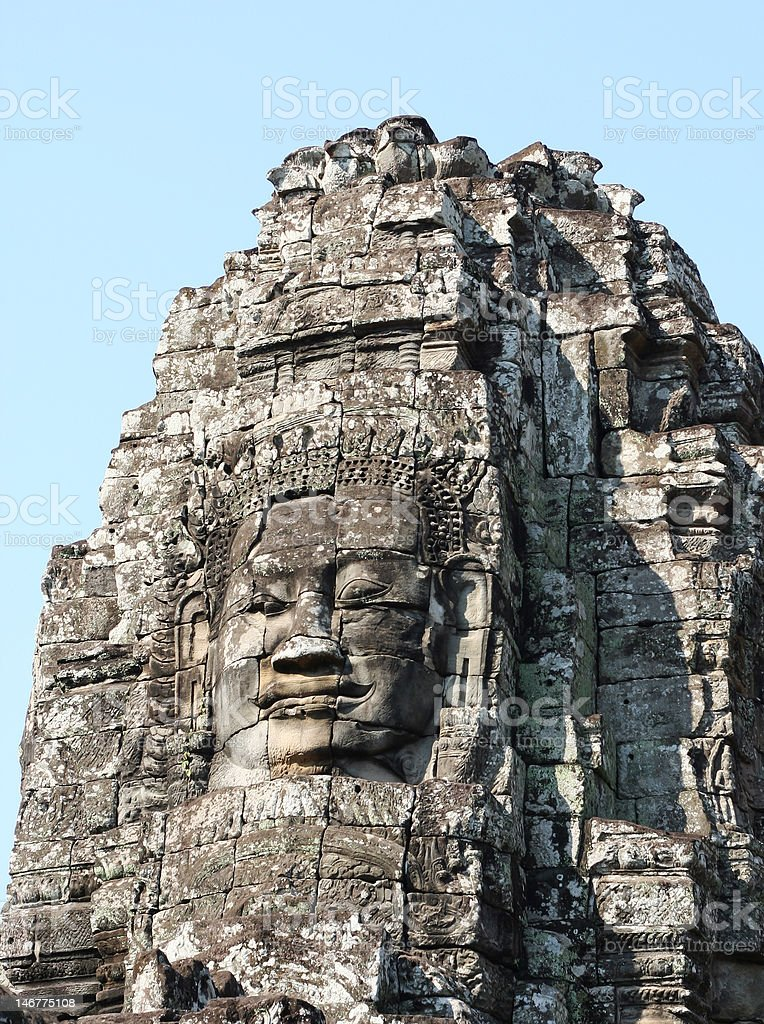 Angkor Thom, Cambodia royalty-free stock photo