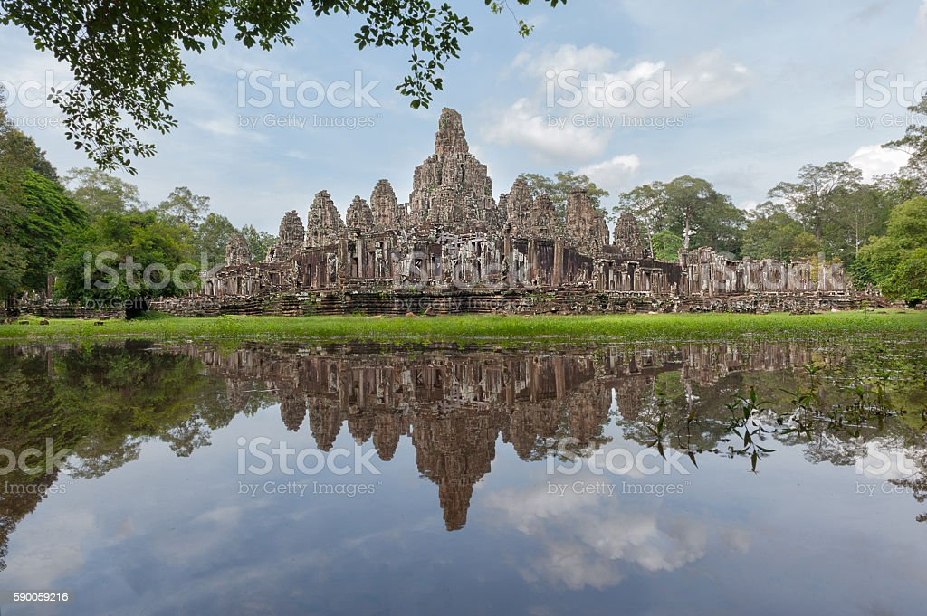 Angkor Thom Cambodia stock photo