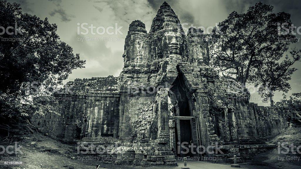 Angkor Thom Cambodia stock photo