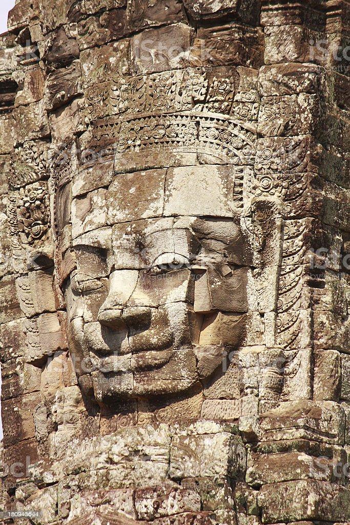 Angkor Thom royalty-free stock photo