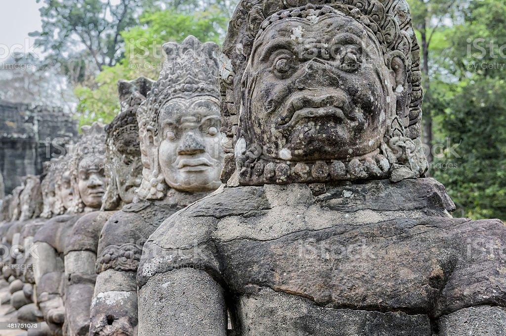 Angkor Thom stock photo