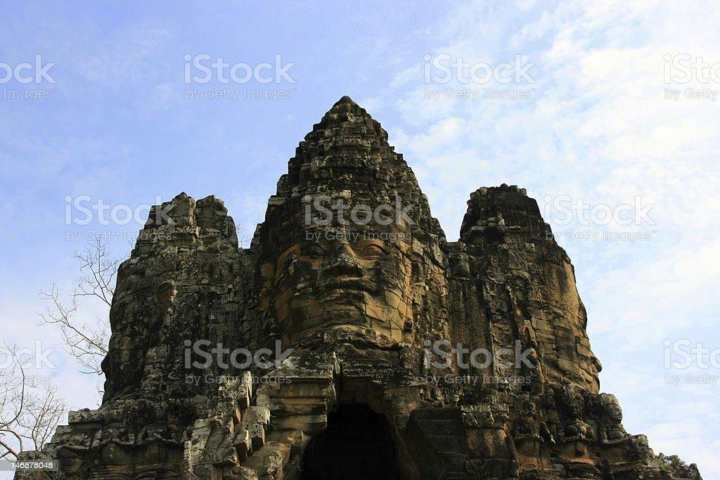 Angkor Wat, Cambodia, Bayon, Temple, Siem Reap, Asian Holiday royalty-free stock photo