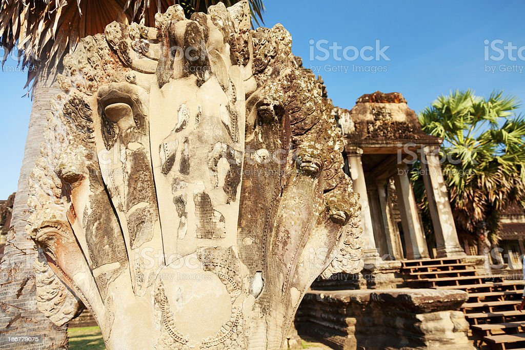 Angkor Wat, Cambodia royalty-free stock photo
