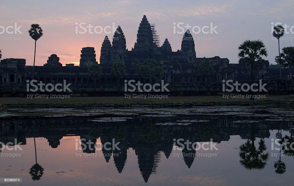 Angkor Wat Kambodży zbiór zdjęć royalty-free