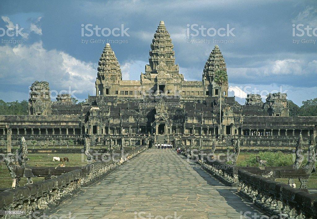 Angkor Wat, Cambodia, SE Asia stock photo