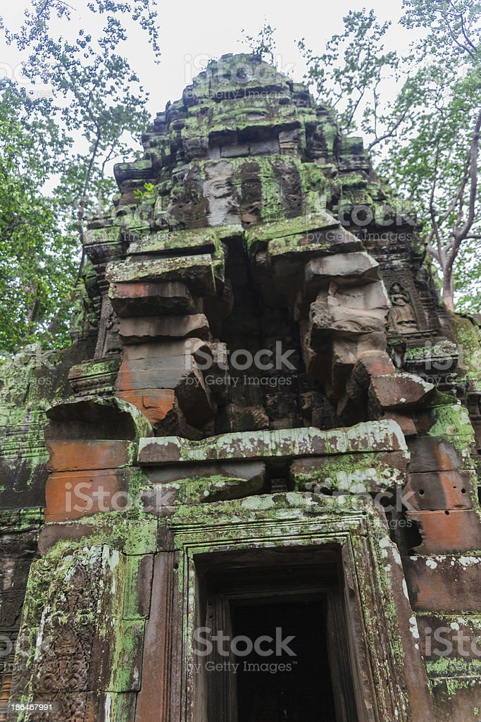 Angkor Wat complex royalty-free stock photo